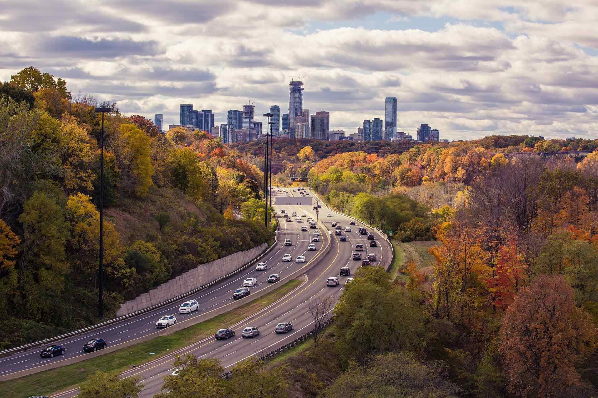 Image d'une autoroute